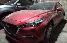 Red Mazda 3 2018 for sale in Quezon City