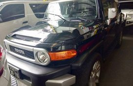 Black Toyota Fj Cruiser 2016 for sale in Quezon City