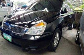 Selling Black Kia Carnival 2011 Automatic Diesel