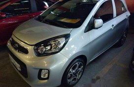 Silver Kia Picanto 2017 Manual Gasoline for sale
