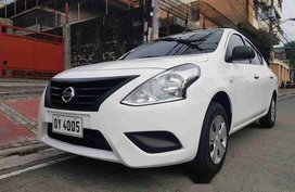 White Nissan Almera 2017 Manual Gasoline for sale