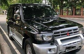 Black Mitsubishi Pajero 2003 for sale
