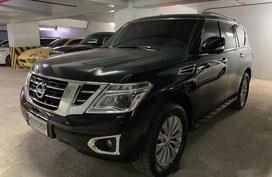 Selling Black Nissan Patrol 2016 at 25000 ikm