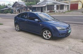 Sell Blue 2007 Ford Focus at 92300 km