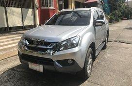 2017 Isuzu Mu-X for sale in Quezon City
