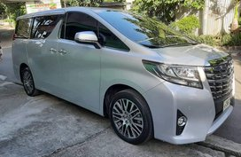 2016 Toyota Alphard for sale in Quezon City