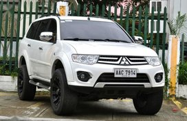 2014 Mitsubishi Montero Sport for sale in Manila