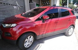 Selling Red Ford Ecosport 2017 Automatic Gasoline