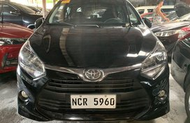 Sell Black 2018 Toyota Wigo in Quezon City