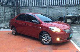 Sell Red 2013 Toyota Vios at 50000 km