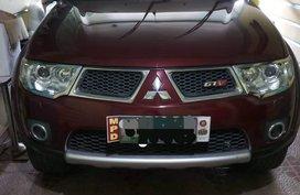 Red Mitsubishi Montero Sport 2012 Automatic Diesel for sale
