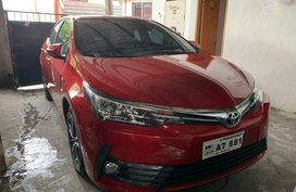 Selling Red Toyota Altis 2018 in Quezon City