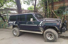 Selling Blue Nissan Patrol 1993 at 100000 km