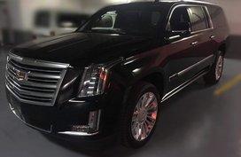 Brand new 2019 Cadillac Escalade ESV Platinum