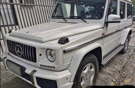 White Mercedes-Benz G-Class 1997 at 60000 km for sale