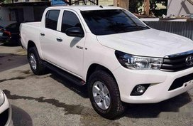 White Toyota Hilux 2019 Manual Gasoline for sale