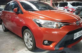 Orange Toyota Vios 2016 for sale