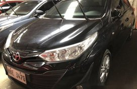 Black Toyota Vios 2018 at 1800 km for sale