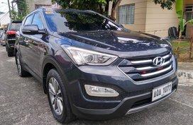 Blue 2015 Hyundai Santa Fe for sale in Antipolo City