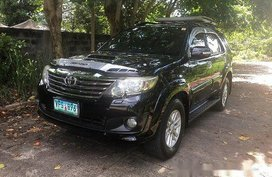 Sell Black 2013 Toyota Fortuner at Automatic Diesel at 1200000 km