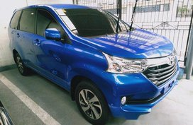 Selling Blue Toyota Avanza 2018 Automatic Gasoline