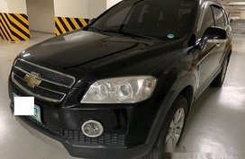 Selling Black Chevrolet Captiva 2011 at 79556 km