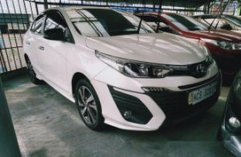 Selling White Toyota Vios 2019 Automatic Gasoline