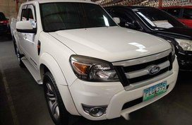 Selling White Ford Ranger 2010 at 86777 km