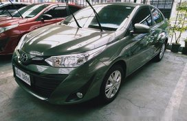 Green Toyota Vios 2018 for sale in Makati