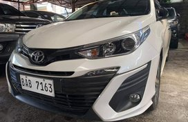 Selling Pearl White Toyota Vios 2019