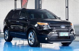 Black Ford Explorer 2013 at 15000 km for sale