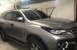 Sell Silver 2018 Toyota Fortuner at 11800 km