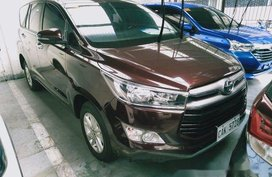 Brown Toyota Innova 2018 for sale in Makati