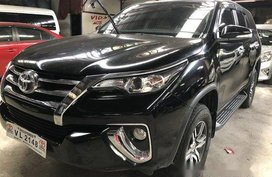 Sell Black 2017 Toyota Fortuner at 18000 km