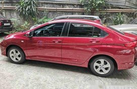 Selling Red Honda City 2016 Automatic Gasoline at 49000 km