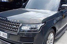 Selling Black Land Rover Range Rover 2015 Automatic Diesel at 15000 km