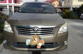 Selling Beige Toyota Innova G 2.5 2013 in Santa Rosa