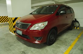 Red Toyota Innova J Dsl Manual for sale in Quezon City