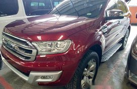 Red Ford Everest 2016 for sale in Quezon City