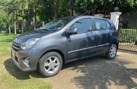 Grey Toyota Wigo 2015 at 20740 km for sale in Panglao