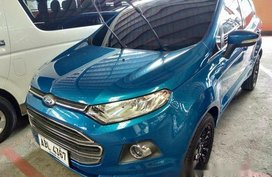 Selling Blue Ford Ecosport 2015 Automatic Gasoline