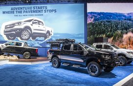 "Beefy Ford Ranger ""Raptor"" Lariat FX4 displayed at SEMA 2019"