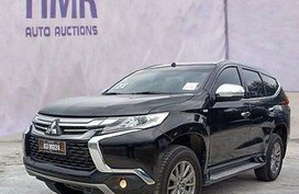 Black Mitsubishi Montero sport 2018 at 17959 km for sale