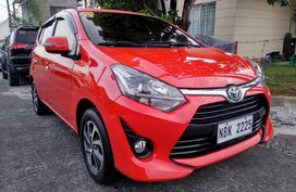 Selling Red 2018 Toyota Wigo G in Antipolo