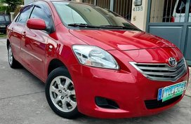 Red 2012 Toyota Vios E Automatic for sale in Himamaylan