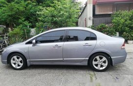 Blue Honda Civic 2008 Automatic Diesel for sale