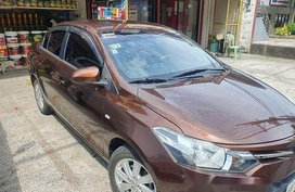 Sell Brown 2014 Toyota Vios at 28000 km