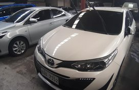 Pearl White Toyota Vios 2018 for sale