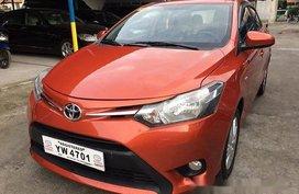 Orange Toyota Vios 2016 at 31000 km for sale