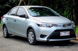 Selling Silver Toyota Vios 2017 Manual Gasoline at 40000 km